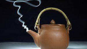 Teekanne für Maulbeertee